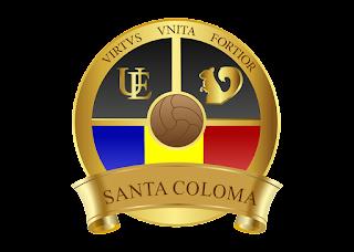 Ue santa coloma Logo Vector