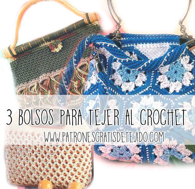 Bolsos De Ganchillo Patrones. Beautiful With Bolsos De Ganchillo ...