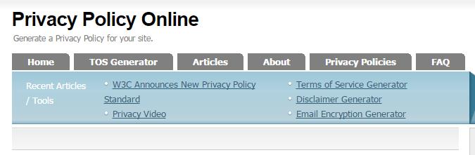 Cara Membuat Privacy Policy Blog Lengkap