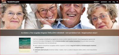 nyugdíjasblog gyűjtő