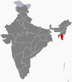 Mizoram in India
