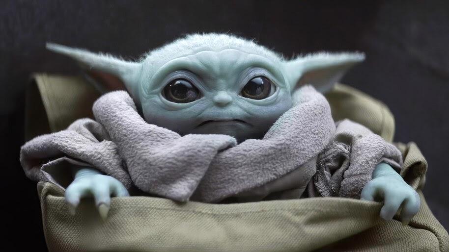 Baby Yoda, The Mandalorian, 4K, #7.991
