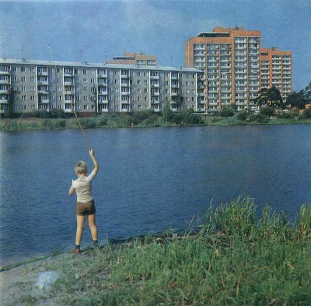 1970-е. Jugla-3. Velnezers. Velders iela