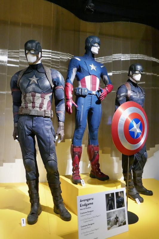 Chris Evans Avengers Endgame Captain America costume