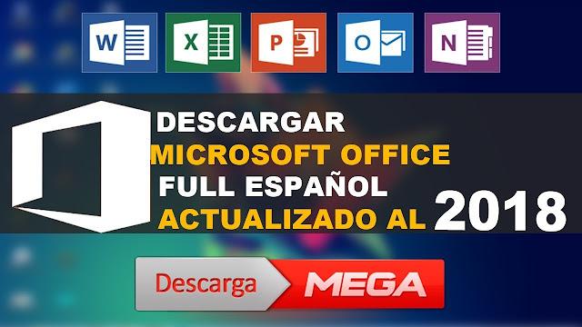 descargar office 2019 full español + activador 64 bits