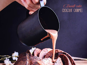 Gâteau chocolat caramel hyper moelleux