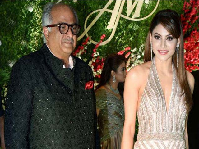 Urvashi Rautela being touched 'inappropriately' by Boney Kapoor