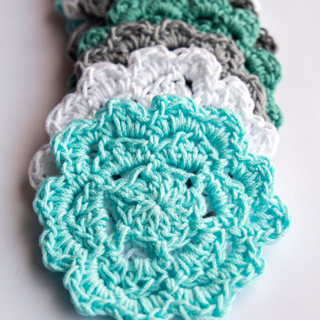 easy crochet coaster pattern