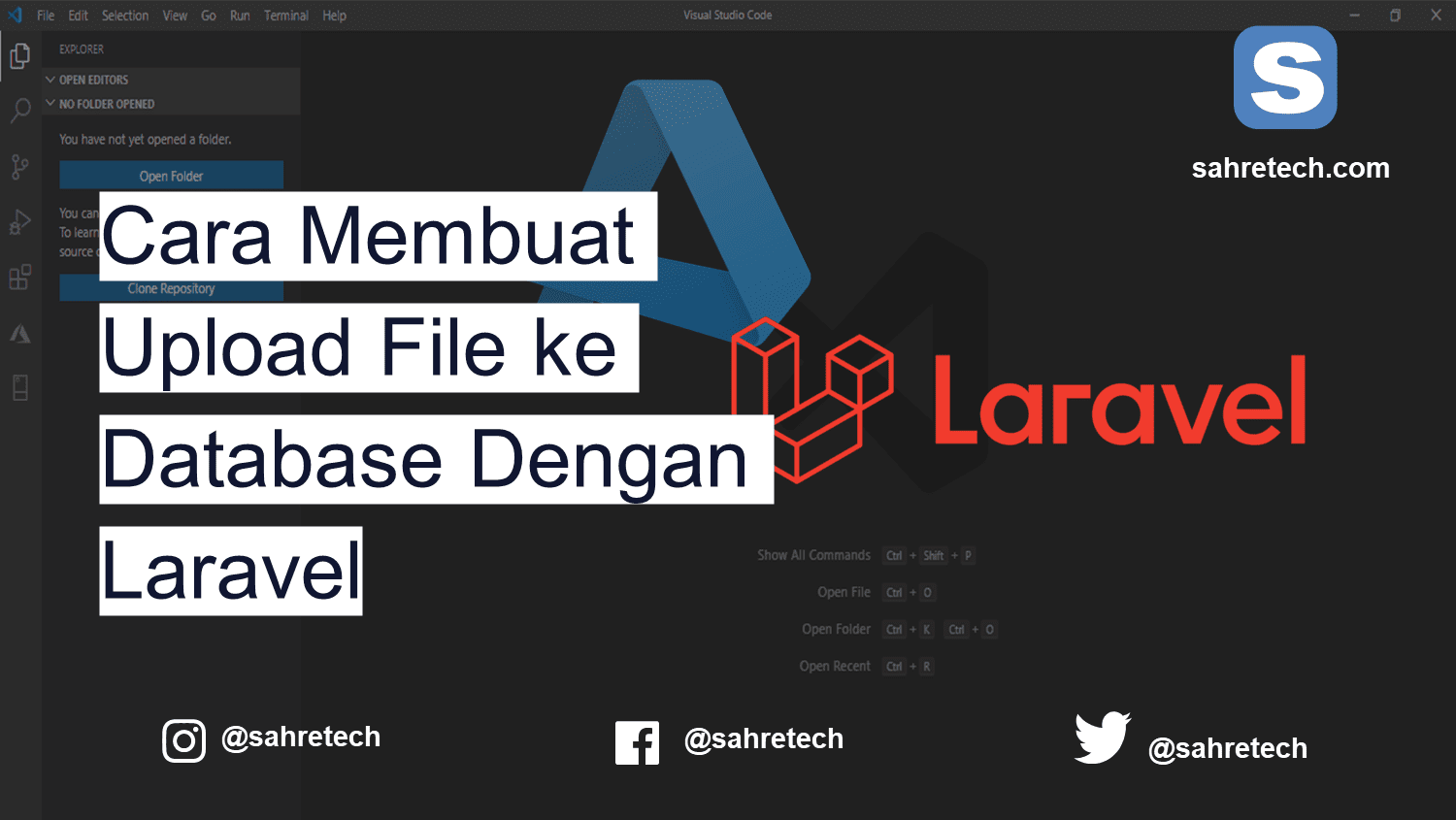 Cara Membuat Upload File ke Database Dengan Laravel
