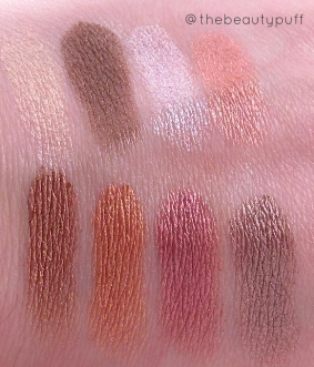 city color harvest moon swatches - the beauty puff