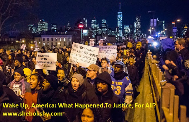 Wake Up, America: What Happened To Justice, For All?