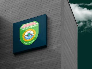 desain papan nama logo provinsi sumatera selatan - kanalmu