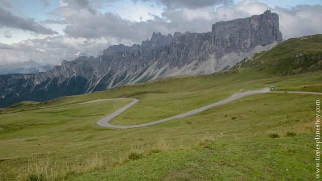 Passo di Giau puertos montaña Dolomitas