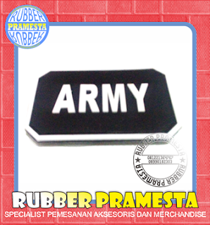 PATCH KARET UNIK | PATCH RUBBER PESANAN | PATCH RUBBER CUSTOM