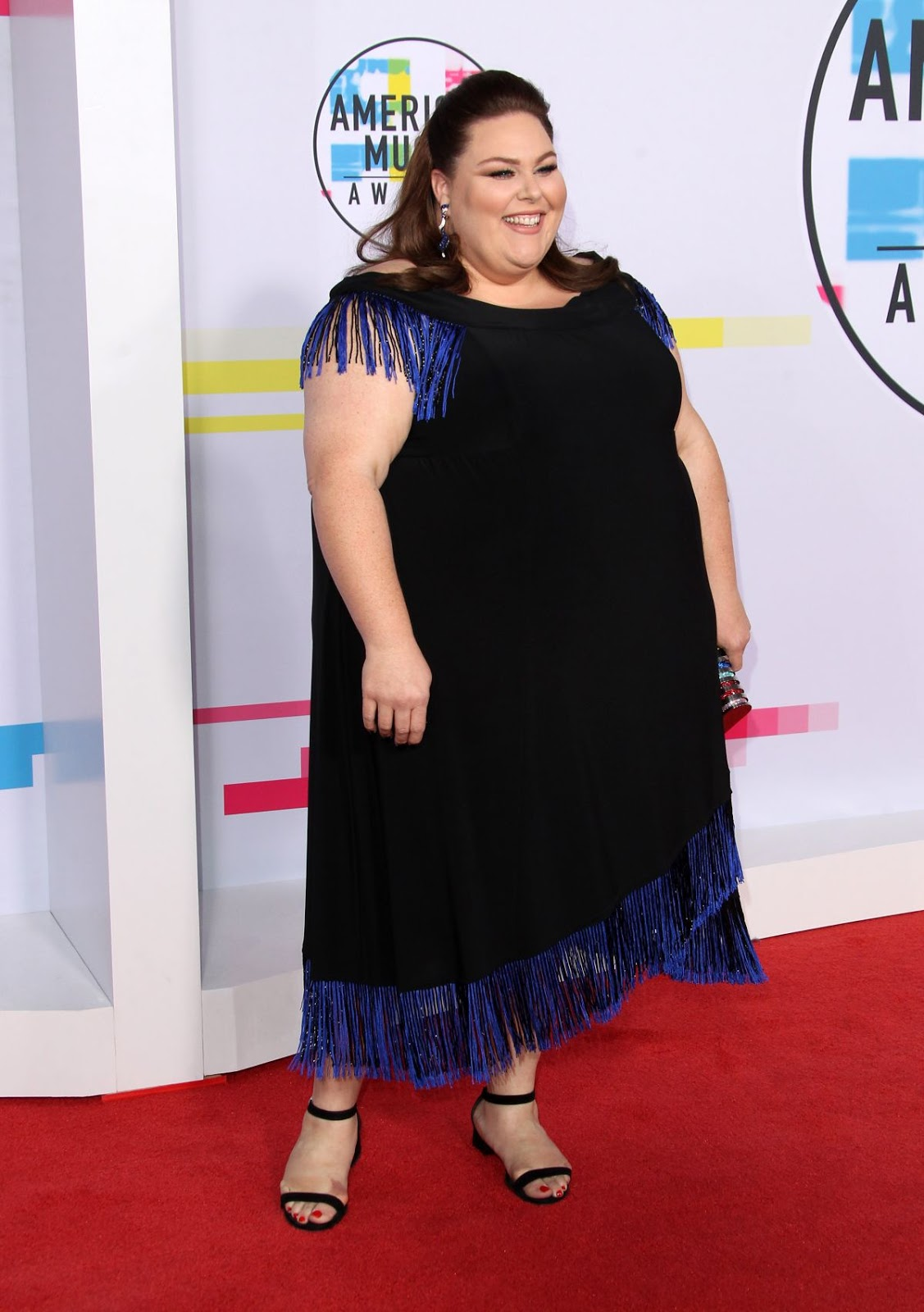 Photos of Chrissy Metz at American Music Awards 2017 at Microsoft Theater in Los Angeles