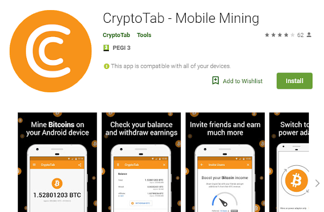 CryptoTab for Android : 📱⛏ CryptoTab for Android: Earn