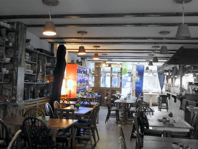The Rosemary Organic Hungarian Restaurant interior