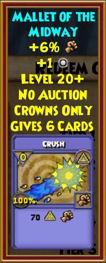 Wizard101 Creepier Carnival Bundle Gear