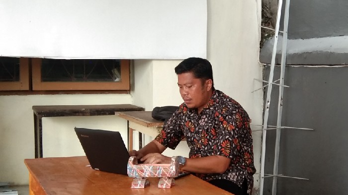 Kadis Kominfo Sinjai Isi Data Sensus Penduduk Online 2020