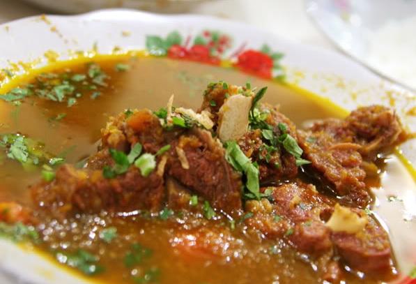 Sup daging Kambing yang empuk dan Lezzzaaat...!!!