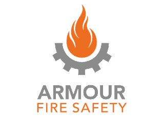 Armour Fire Safety Logo Vector