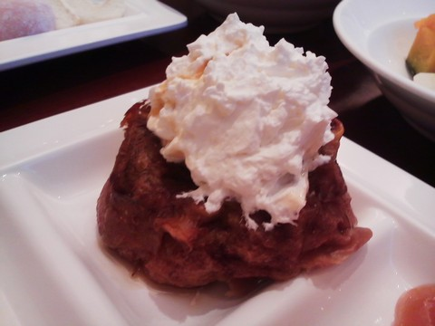 フレンチトースト2 ホテルエミシア札幌カフェ・ドム