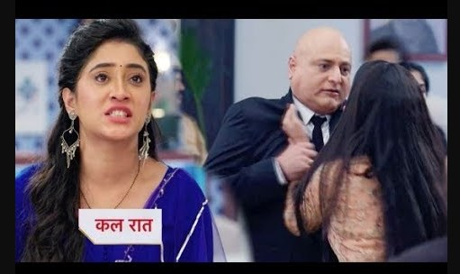 High Voltage Drama : Bold Naira grabs Jhaveri's neck makes his tamasha in Courtroom in YRKKH