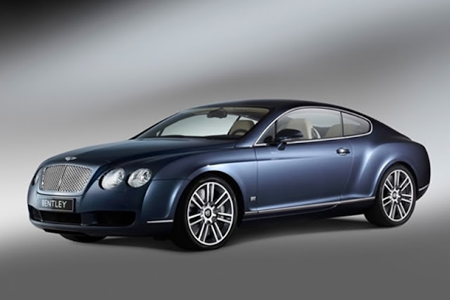 Bentley GT Speed with 592 horsepower
