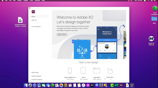 Adobe XD CC 2020 v26.0.22 For Mac Full Crack Free Download