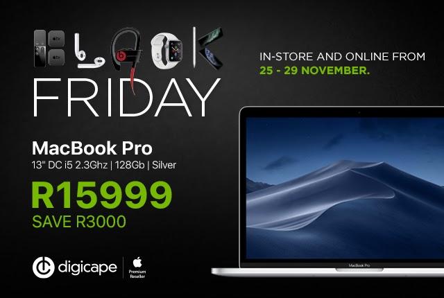 MacBook Pro – R15,999