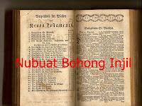 Nubuat Bohong Injil