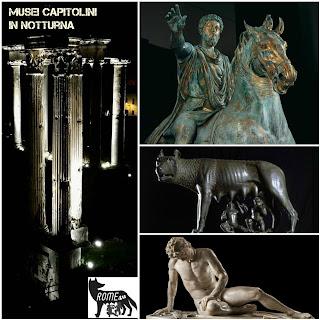 I Musei Capitolini in notturna - Visita guidata con ingresso a 1 euro, Roma