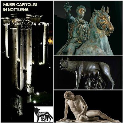 I Musei Capitolini in notturna - Visita guidata con biglietto d'ingresso a 1 euro