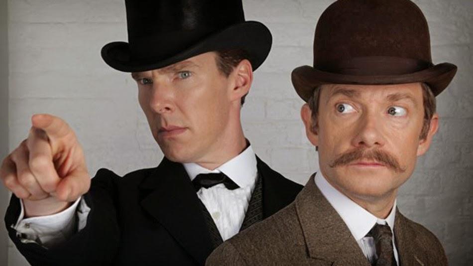 Sherlock está indo para Londres vitoriana