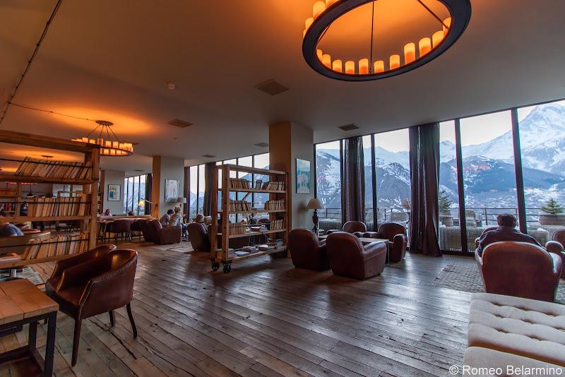Rooms Hotel Kazbegi Lobby Review