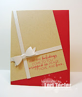 Wrapped in Peace, Hope, and Love card-designed by Lori Tecler/Inking Aloud-stamps and dies from Clear and Simple Stamps