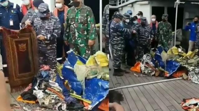 Beredar Video Diduga Puing KRI Nanggala-402 Sajadah Utuh, Begini Faktanya