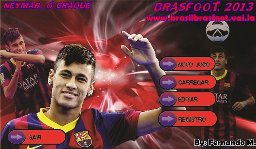 Skin do Neymar no Barcelona (PEDIDO) - Brasfoot 2013