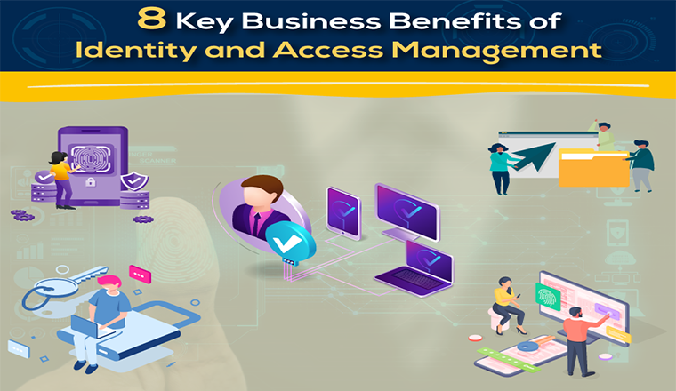 8 Key Business Benefits of Identity and Access Management #Infographic