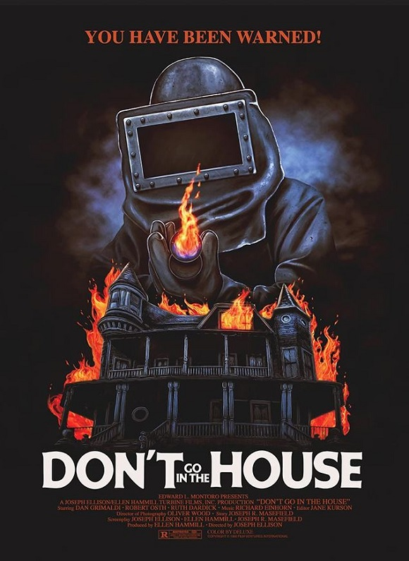 'Don't Go In The House' movie poster