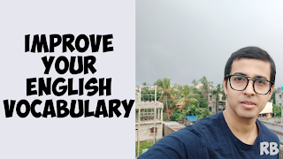 English is easy with rb, english words for competitive exams, learn english vocabulary, english lessons, GRE, TOEFL, IELTS, Bank po examinations