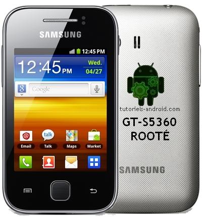 Root - Unroot GALAXY Y S5360