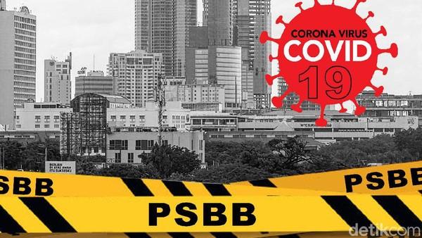 Wanti-wanti di Balik Perpanjangan PSBB Transisi