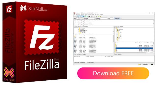 FileZilla Pro 2021 Free Download