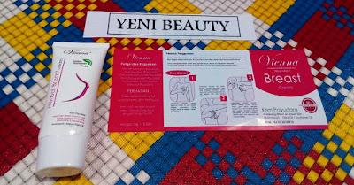 Vienna Breast Cream Perawatan ampuh untuk payudara memaksimalkan menjadi besar dan juga kencang