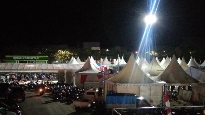 Ratusan Pedagang dan Pengusaha Meriahkan Fest andi Expo HJS ke-456