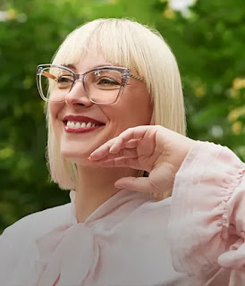 stylish square cat-eye glasses