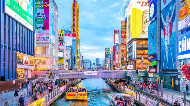 4. Kota Osaka