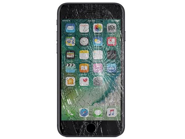 mặt kính iPhone 7 plus bj vỡ cần thay mới