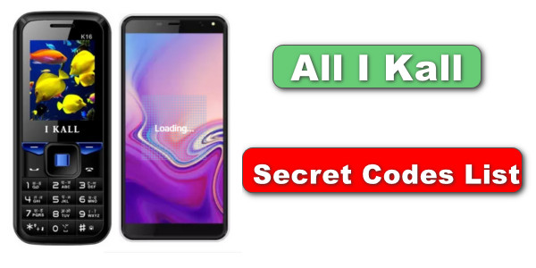 All I Kall Mobile Secret Codes List - for Android and keypad